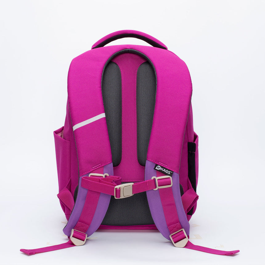 ASHTON Series 3 Ergonomic School Backpack for Primary School Pupils - Magenta