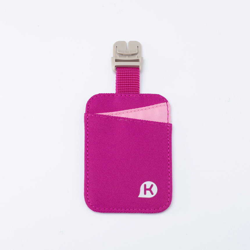 ASHTON Series Student Card Holder w/strap - Magenta