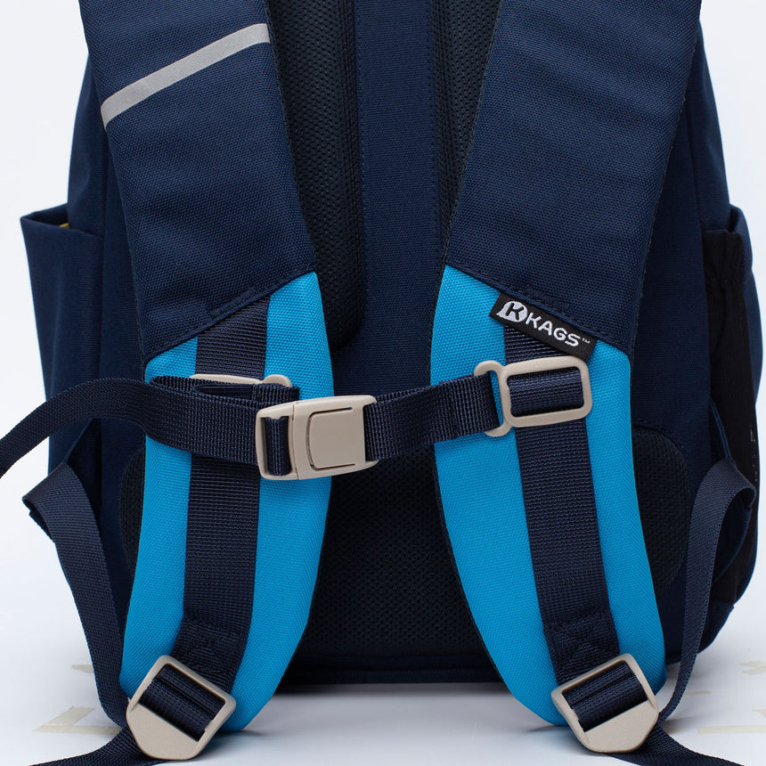ASHTON Series 3 Ergonomic School Backpack for Primary School Pupils - Navy