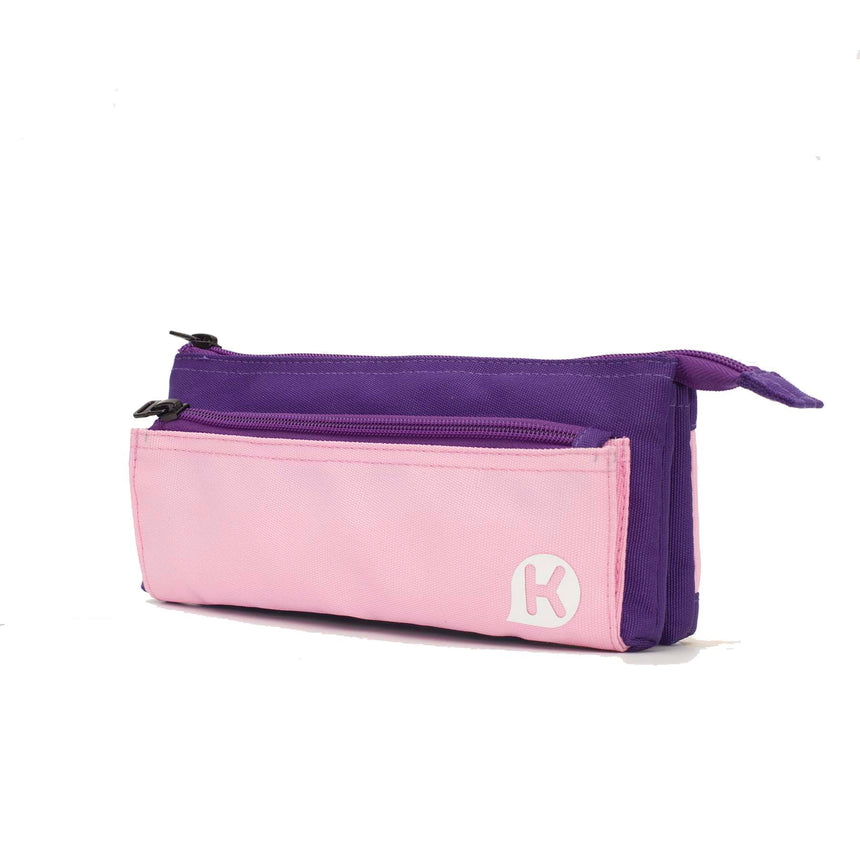 ASHTON Series 5-Pocket Pencil Case - Purple