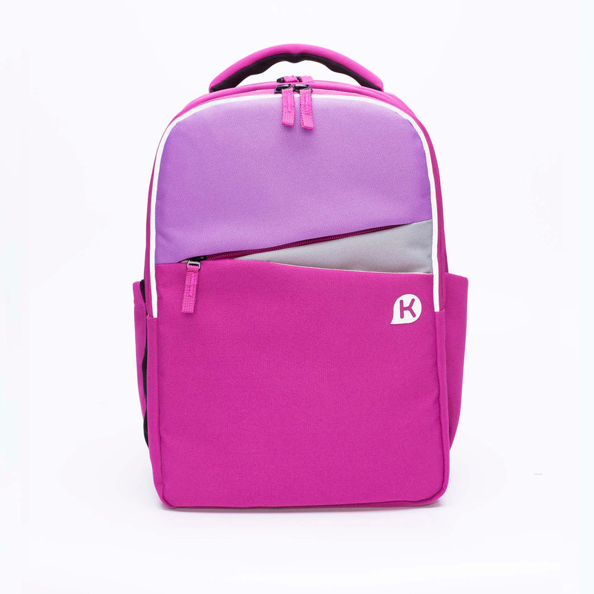 ASHTON Series 4 Ergonomic School Backpack for Primary School Pupils - Magenta