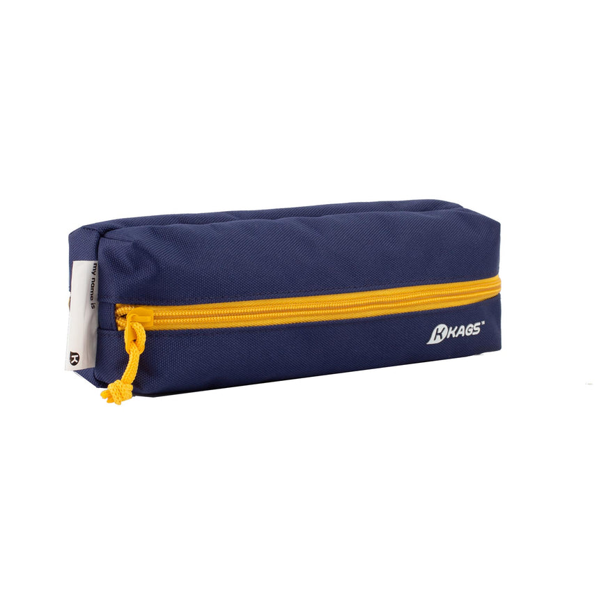 BRETT Series Dual Compartments Pencil Case - Blue