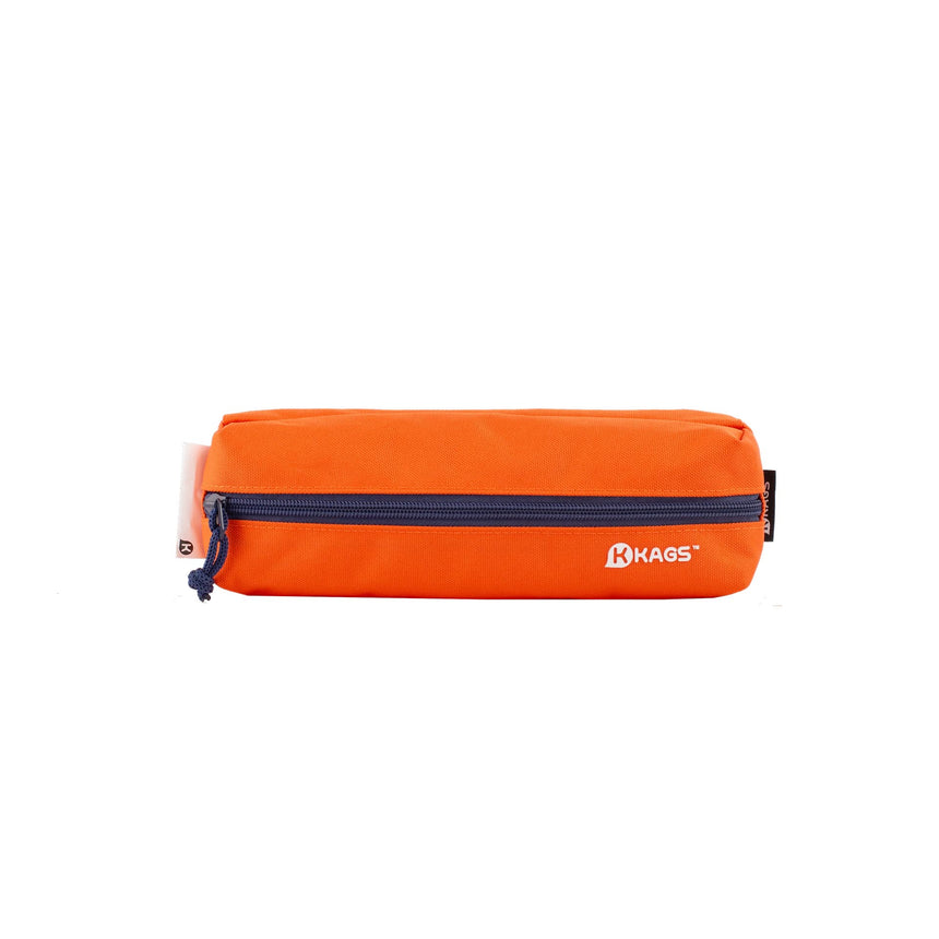 BRETT Series Dual Compartments Pencil Case - Orange