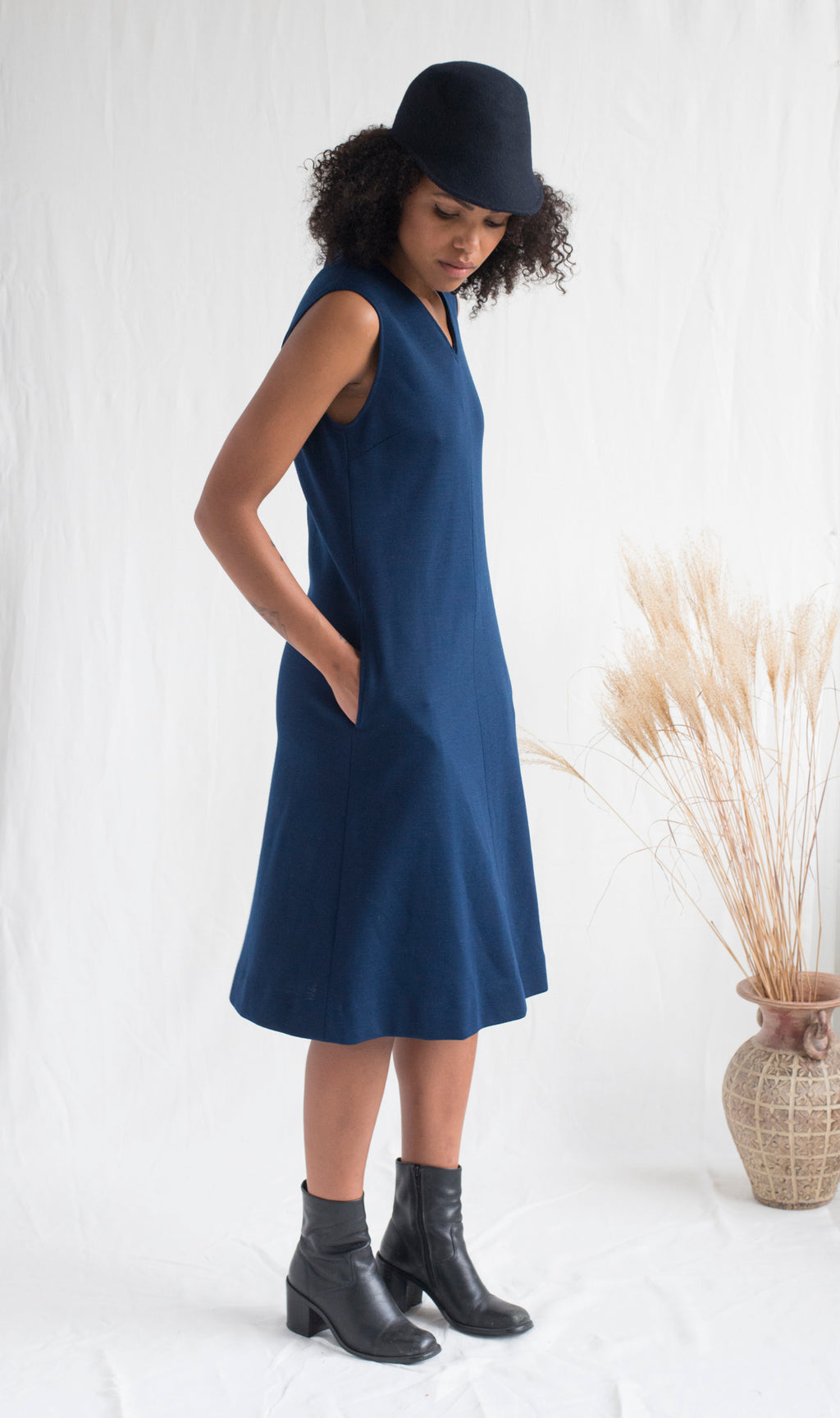 Pendleton Wool Dress - Femmes des Lunes
