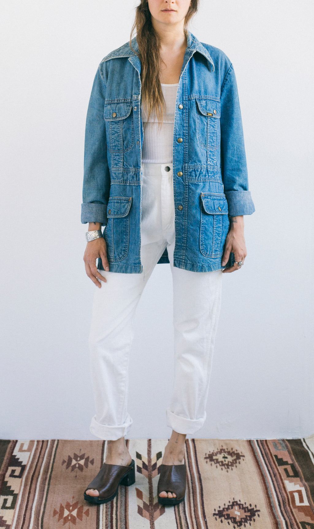 Lee Denim Safari Jacket - Femmes des Lunes