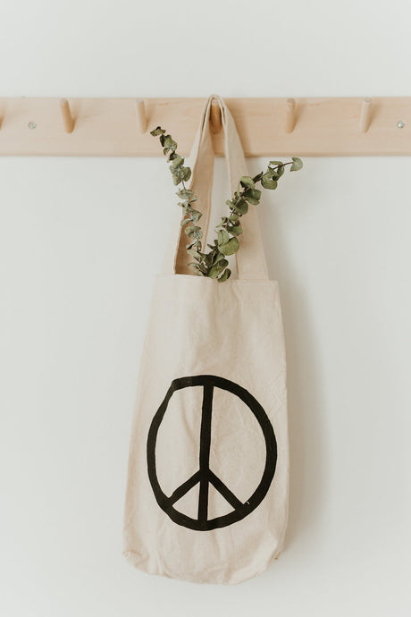 PEACE Mini Tote Bag