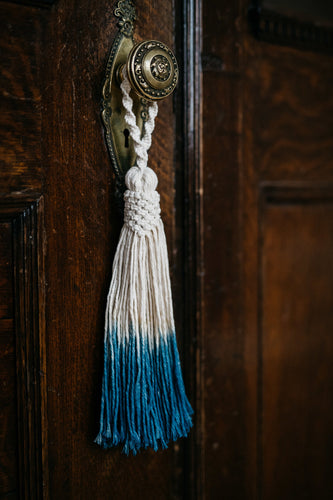 INDIGO TASSEL Decoration