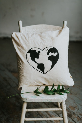 LOVE OUR PLANET Pillow Cover