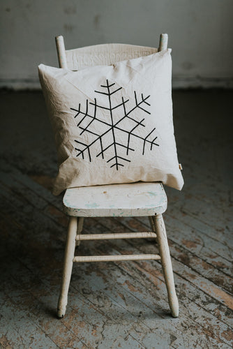 SNOWFLAKE Pillow Cover