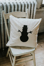 SNOWMAN Pillow Cover