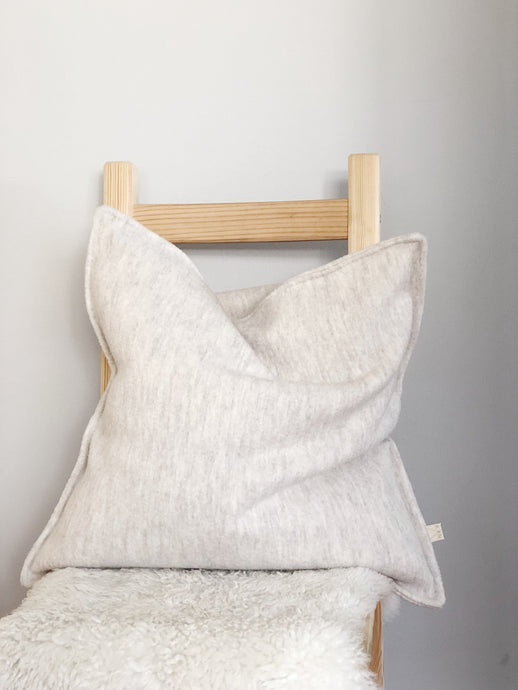 Wool Pillow Cover, Sand