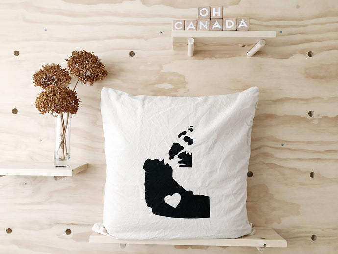 NORTH WEST TERRITORIES Pillow Cover