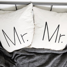 GROOM AND GROOM Pillow Cover Set