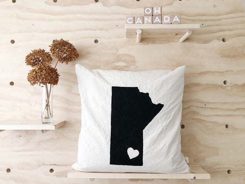 MANITOBA Pillow Cover