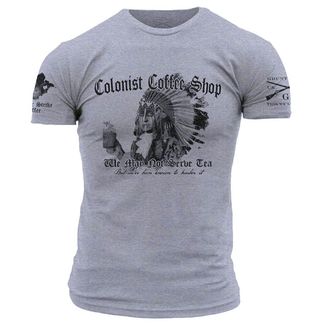 Grunt Style and Counter Strike Coffee Company Colonist Coffee Shop Tee Shirt