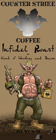 Counter Strike Coffee Warhog Infidel Roast Coffee Front