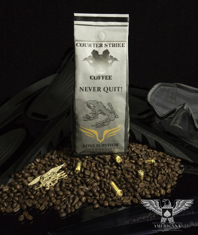 NEVER QUIT COFFEE FOR THE LONE SURVIVOR FOUNDATION