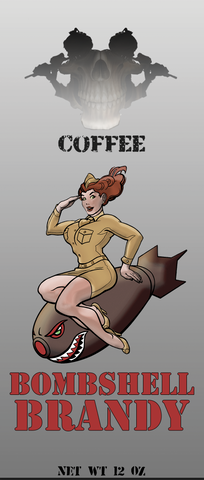 Bombshell Brandy Coffee from Counter Strike Coffee Company