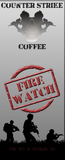 Fire Watch coffee counter Strike Coffee front