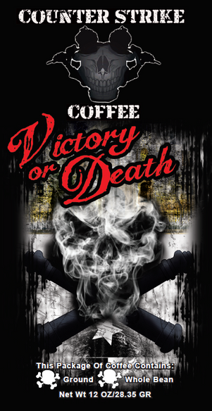 Victory Or Death Southern Roasted Pecan Flavored Coffee