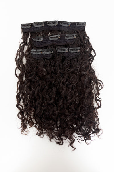 Curly Clip In Stacks