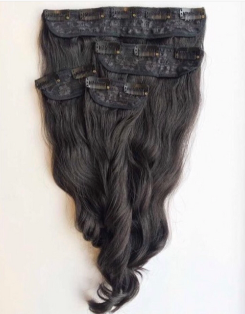 Luxury Clip Ins Stacks with Free clip in Bang