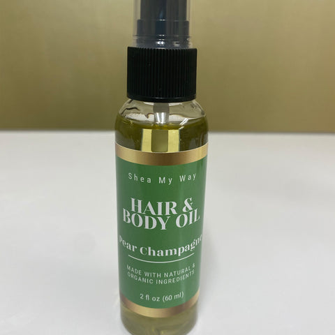 Pear Champagne Hair & Body Oil