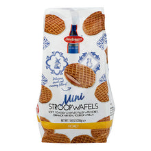 Dalemans Dutch Mini Honey Stroopwafels Wafer Cello Bag 7.04 Oz.