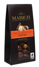 Marich Chocolates Trio Gift Set 3 Flavors (Triple Chocolate Toffee, Dark Chocolate Sea Salt Cashews, Milk and Dark Chocolate Nut Medley) Gable Box 4.25 Oz. Each (Pack of 3)