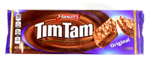 Australian Tim Tam Original Chocolate Biscuits by Arnott's 7 oz.
