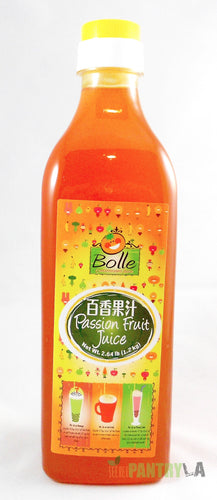 Bolle Premium Passion Fruit Syrup for Bubble Tea, Cocktail, Drinks 42.24 Fl. Oz.