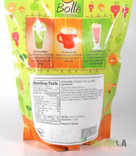 BOLLE  Green Tea Latte Premium Powder Mix for Bubble Tea Boba Smoothies Slush 2.2 Lbs.