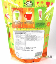 BOLLE  Mango Premium Powder Mix for Bubble Tea Boba Smoothies Slush 2.2 Lbs.