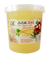 Bolle LYCHEE Popping Boba Pearls 112 Oz./7 lbs.  Restaurant Size
