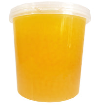Bolle PASSION FRUIT Popping Boba Pearls 112 Oz./7 lbs.  Restaurant Size