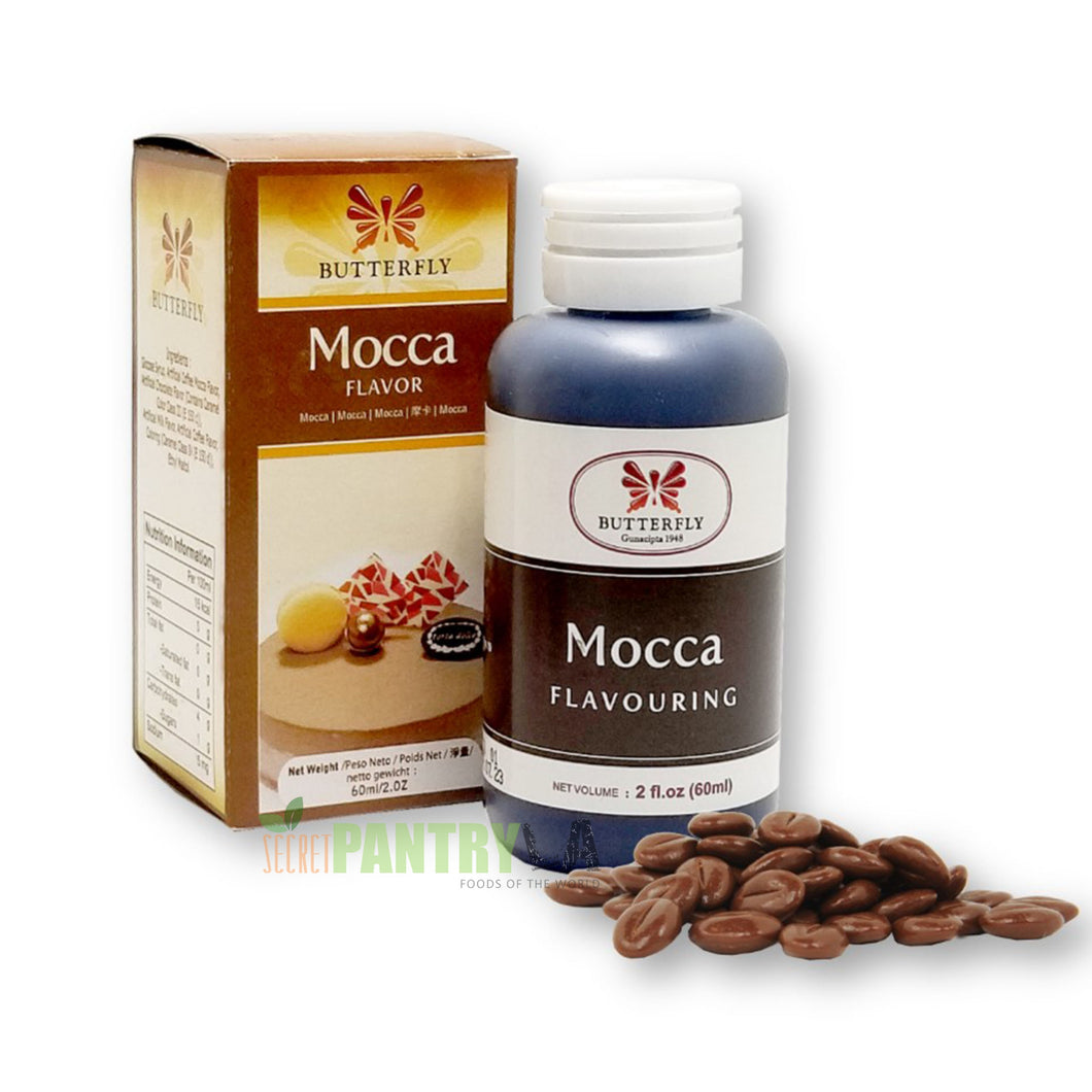 Butterfly Mocca Flavoring Extract 2 Oz. (60 ml)