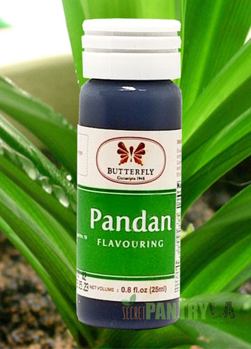 Pandan Paste Butterfly Brand 25 ml. (0.8 Fl. Oz.)