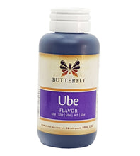Butterfly Ube Purple Yam Flavoring Extract 2 Oz. /60 ml. (24-Pack)