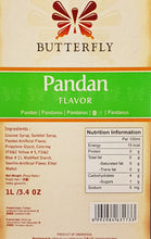 Butterfly Pandan Paste Flavoring Extract Restaurant Size 1 Liter (34 Fl. Oz.)