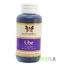 Butterfly Ube Purple Yam Flavoring Extract 2 Oz. /60 ml. (6-Pack)