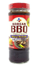 CJ Korean BBQ Sauce Bulgogi Marinade 17.6 Oz.