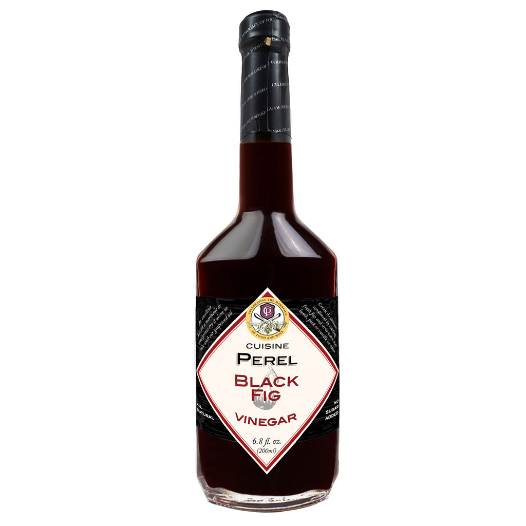 Cuisine Perel Black Fig Vinegar 6.8 Fl. Oz. (200 ml)