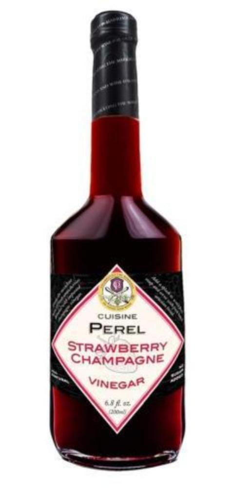 Cuisine Perel Strawberry Champagne Vinegar 6.8 Fl. Oz. (200 ml)
