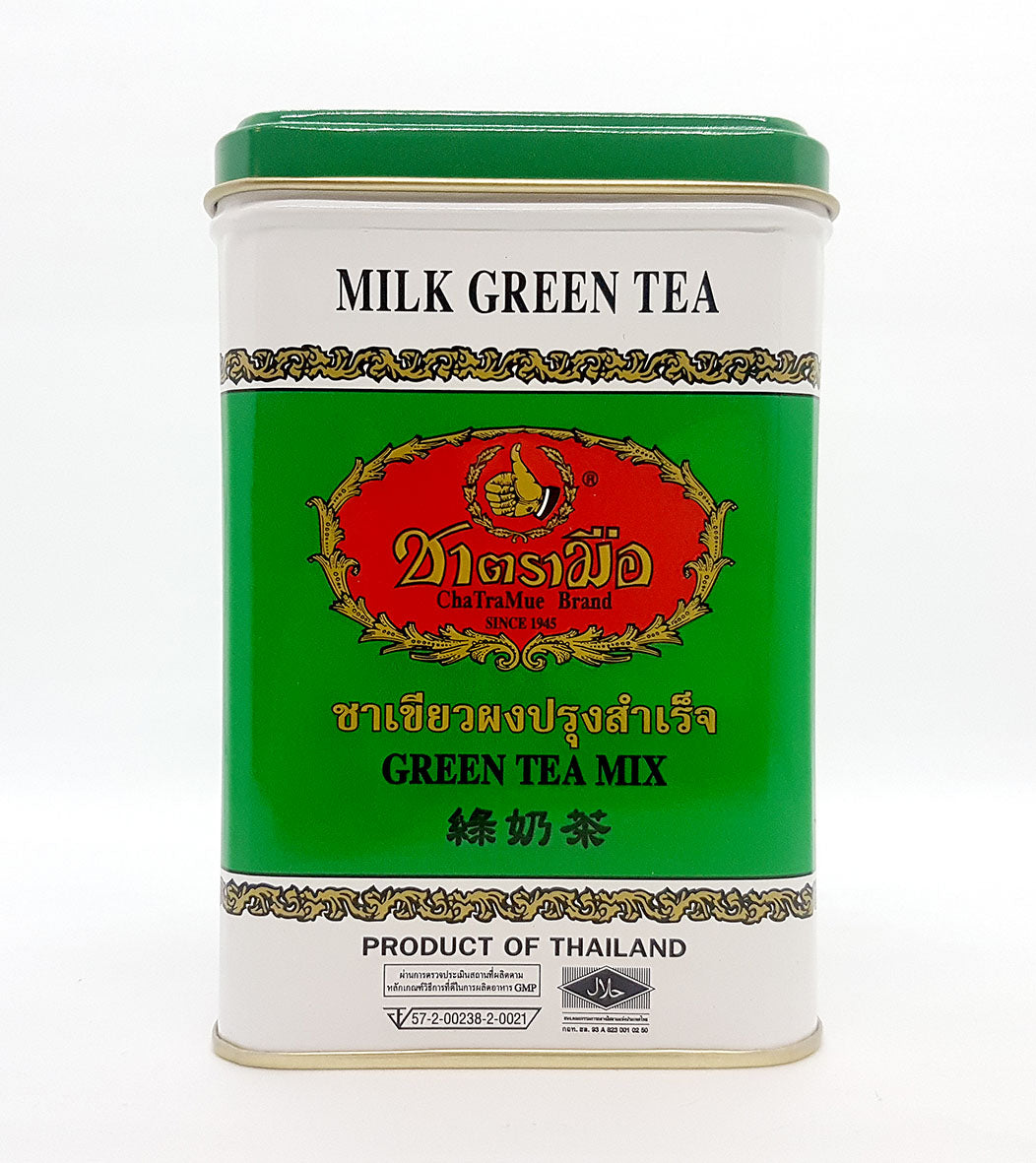 Number One ChaTraMue Thai Tea MILK GREEN TEA MIX Sachet 50 Tea Bags
