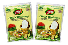 Chao Thai Coconut Milk Powder Mix All Natural 2 Oz. Each  (Pack of 2)