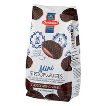 Dalemans Dutch Mini Stroopwafels 3 Variety Pack (Caramel, Honey, Chocolate-Caramel) Cello Bag 3 X 7.04 Oz.