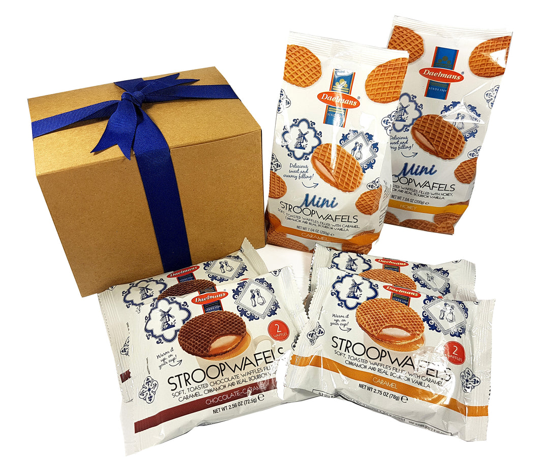 Dalemans Dutch Stroopwafels Wafer Variety Snack Pack Gift Set