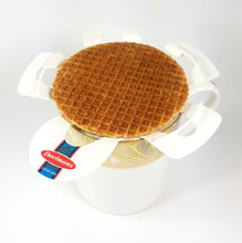 Dalemans Dutch MAPLE Stroopwafels Jumbo Size Cube Box 10.94 Oz.