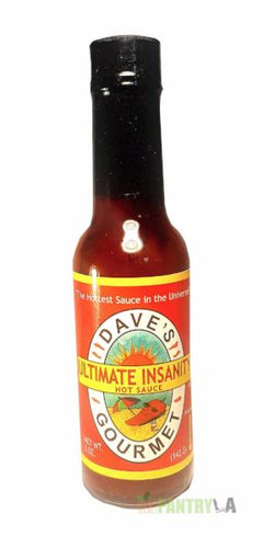 Dave's Ultimate Insanity Hot Sauce 5 Oz. by Dave's Gourmet