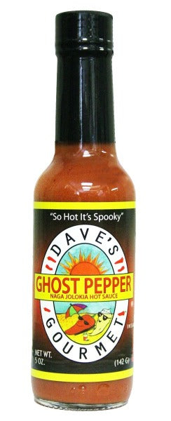 Dave's Ghost Pepper Naga Jolokia Hot Sauce 5 Oz. by Dave's Gourmet